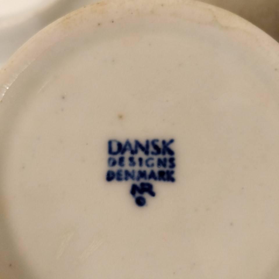 4 Krus M Underkopper Dansk Design
